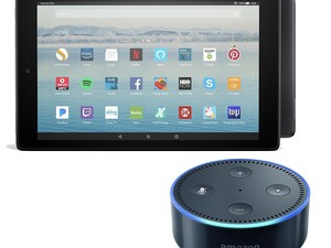 Grab an Amazon Fire HD 10 tablet and Echo Dot for just $150 together