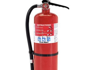 You never know when you'll need the $30 First Alert fire extinguisher
