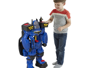 Patrol Gotham with Fisher-Price's $45 Imaginext Batbot Xtreme toy