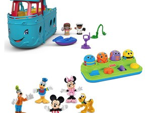 Spend at least $30 on Fisher-Price goods and Amazon will give you $10 off