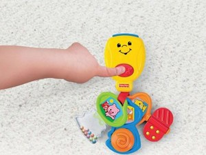 Keep baby entertained with these $5 Fisher-Price nursery rhyme keys