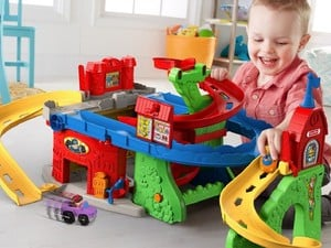 Let the littles play with this $20 Fisher-Price Little People Sit 'n Stand Skyway