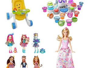 Check the kids off your list with up to 40% off Barbie, Thomas & Friends, and more today
