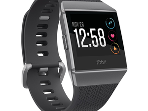 The Fitbit Ionic Smartwatch comes with a $50 Amazon gift card