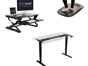 Save up to 30% on Flexispot's standing desks, converters, and more