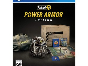 The Fallout 76: Power Armor Edition is in stock for PlayStation 4 right now