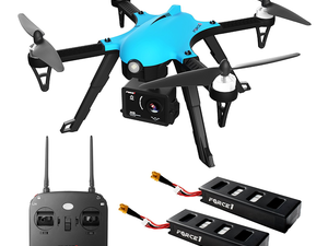The $100 Force1 F100 Ghost Drone is equipped with a detachable 1080P HD camera