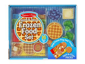Mini master chefs will love this $13 Melissa & Doug Frozen Food play set