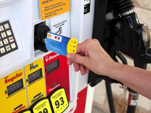 Save up to $10 off gas by signing up for Shell's Fuel Rewards program
