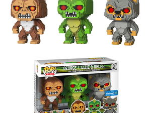 This $6 Funko 8-Bit Pop three-pack set features classic Rampage characters