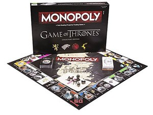 Be the King (or the Queen) in the North with Game of Thrones Monopoly