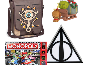Fill up on holiday stocking stuffers with 50% off clearance at GameStop
