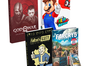 Video game Strategy Guides including Collector's Editions are 50% off at GameStop right now