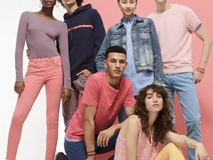 Shop at Gap and get 40% off, another 10% off, and free shipping