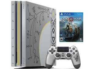 The new limited edition PlayStation 4 Pro 1TB God of War bundle is in stock at Target