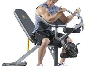 Get your Summer 2018 body ready with this $139 Golds Gym Weight Bench
