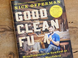 Nick Offerman discusses all things woodworking in this $2 Kindle book