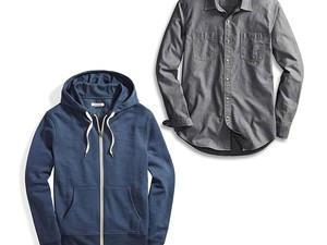 Ace business casual with deals on Amazon-branded button-up shirts, layering basics, & more