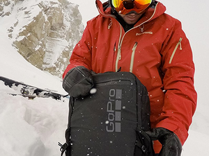 Mount and store various GoPro cameras with the $100 Seeker Backpack