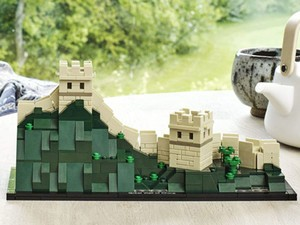 Travel the world with this $40 Lego Architecture Great Wall of China kit
