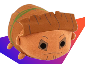 Get snuggly with this large, 20-inch Groot Disney Tsum Tsum plush toy for $10