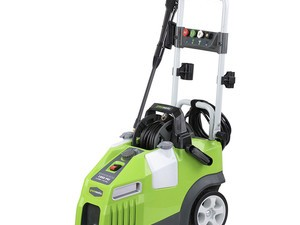 Clean your house, your driveway, and more with this $102 Greenworks 1950 PSI pressure washer
