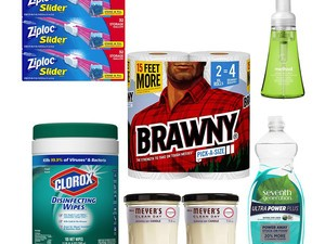Get ready for holiday gatherings with 30% off paper towels, candles, trash bags, Clorox wipes, and more essentials