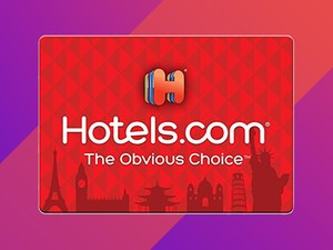 Grab a $50 Hotels.com gift card for just $42 with fast email delivery
