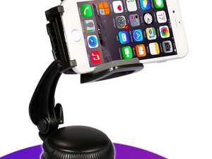 Mount your device in your vehicle for just $5 with iClever's rotatable car phone mount