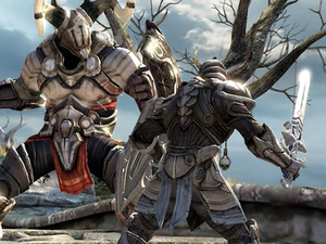Start slaying in the Infinity Blade Trilogy games on iOS devices for $1 each