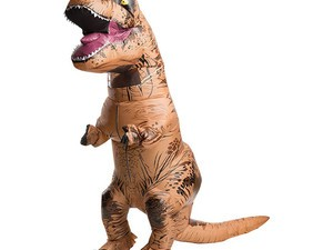Live your best life in the $44 Rubie's inflatable Jurassic World T-Rex costume
