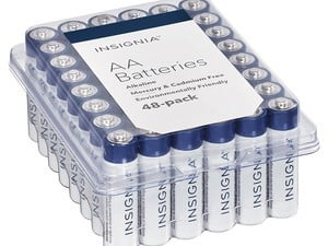 Let none of your electronics die with this 48-pack of AA batteries for $9