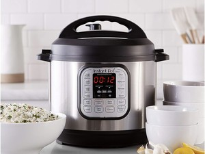 Grab a 6-quart Instant Pot programmable pressure cooker for $80