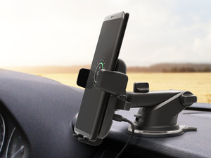 Charge your phone on the way with iOttie's $41 QI Wireless Car Mount