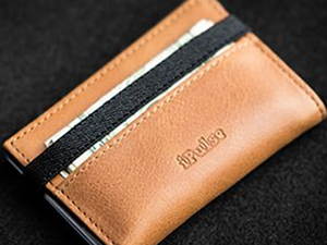 Slide one of these slim, minimalist wallets into your pocket for just $12