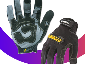 Slip on a pair of Ironclad's General Utility Gloves for only $10
