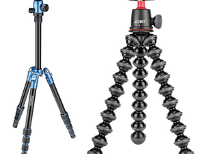 Step up your photography game with this $90 Joby and Prima Photo tripod bundle