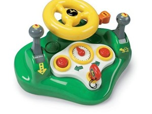 Keep little ones entertained with this $17 John Deere Busy Driver