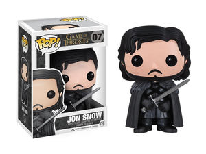 This Jon Snow Funko Pop figure from Game of Thrones is down to $5