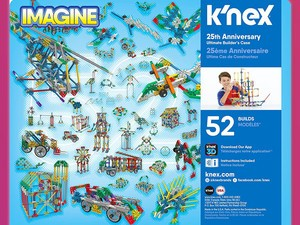 This ultimate K'Nex kit can build 52 models and it's on sale for $31