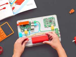 Kids can build their own tablet to surf the web with $80 off Kano's Computer Kit Touch