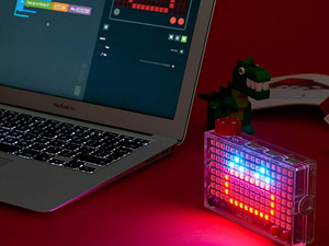 Kids can program their own light shows with the $46 Kano Pixel Kit