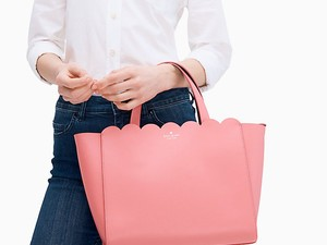 Treat your special someone to a Kate Spade bag at up to 75% off