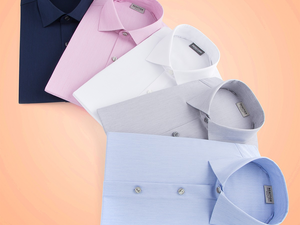 Stock your closet with three men's dress shirts for as low as $45 shipped from Macy's