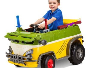 These Kid Trax TMNT ride-on toys start at only $29