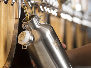 Klean Kanteen's $27 Classic Growler can keep 64 ounces of beer cold for days