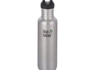 Beat the impending summer heat with this 27oz. Klean Kanteen Stainless Steel Water Bottle for $9