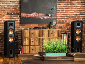 Upgrade your audio setup with this $500 pair of powered Klipsch floorstanding Bluetooth speakers