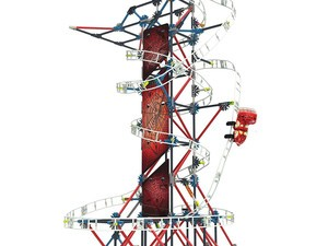 This $35 K'Nex Thrill Rides Web Weaver set will let kids build a rollercoaster