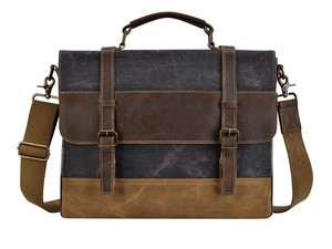 Tote your daily carry in this $33 Kopack 15.6-inch Leather Messenger Bag